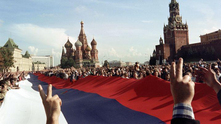 August-Putsch 1991: Sterbehilfe für die Sowjetunion