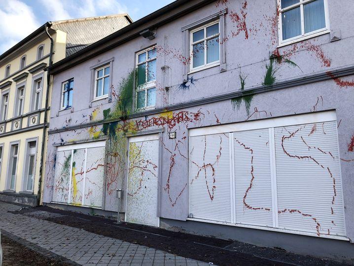 """""""Flieder Volkshaus"""": Szenetreff und NPD-Geschäftsstelle in Eisenach"""