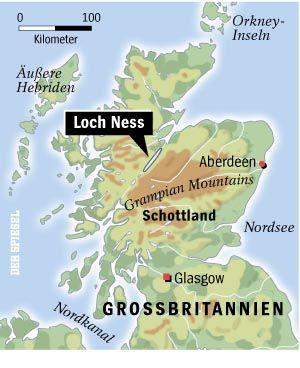 Loch Ness in Schottland: Großer See, keine Nessie