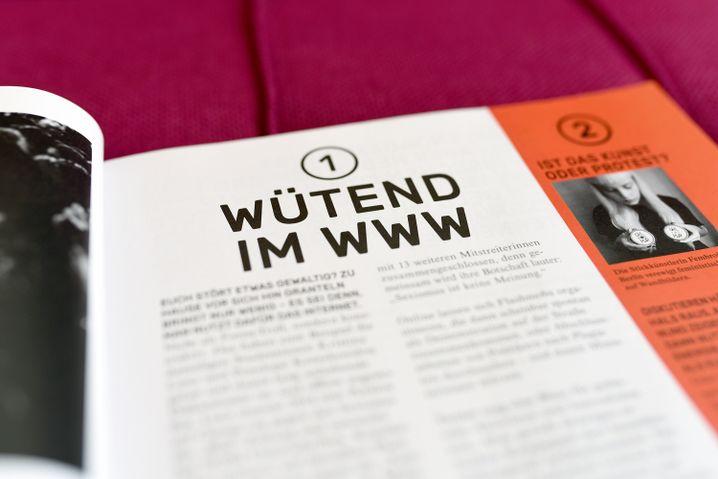 Wütend im Internet: Ideen aggregiert ohne eigene Haltung