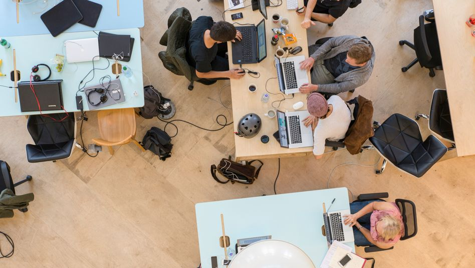 Co-Working-Space in London: Teilzeit-Start-ups als neuer Trend?