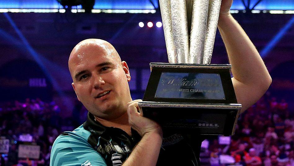 Darts-Champion Rob Cross