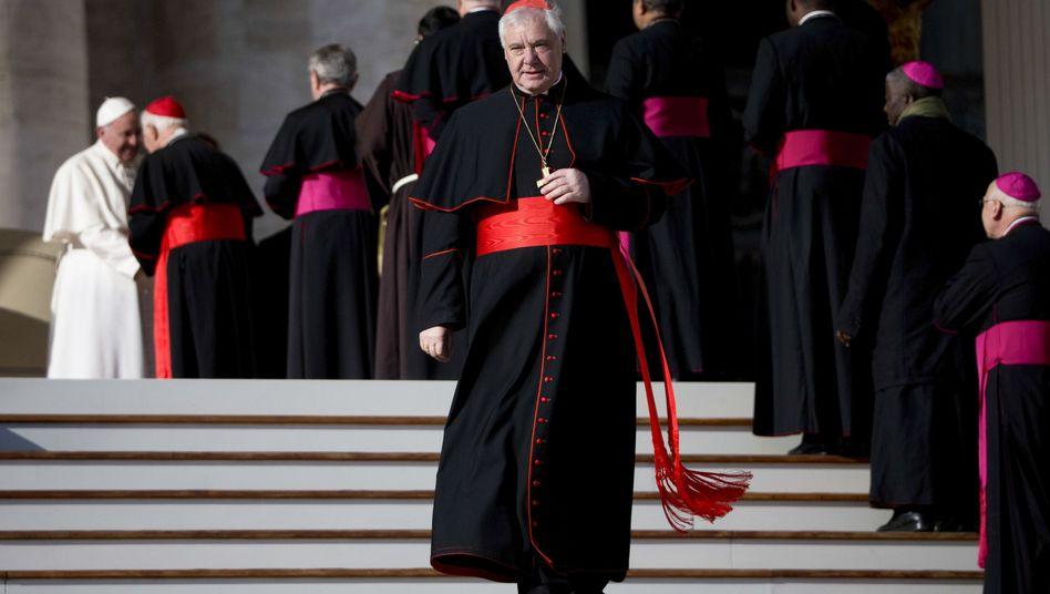 Gerhard Ludwig Müller bei der Generalaudienz im Vatikan