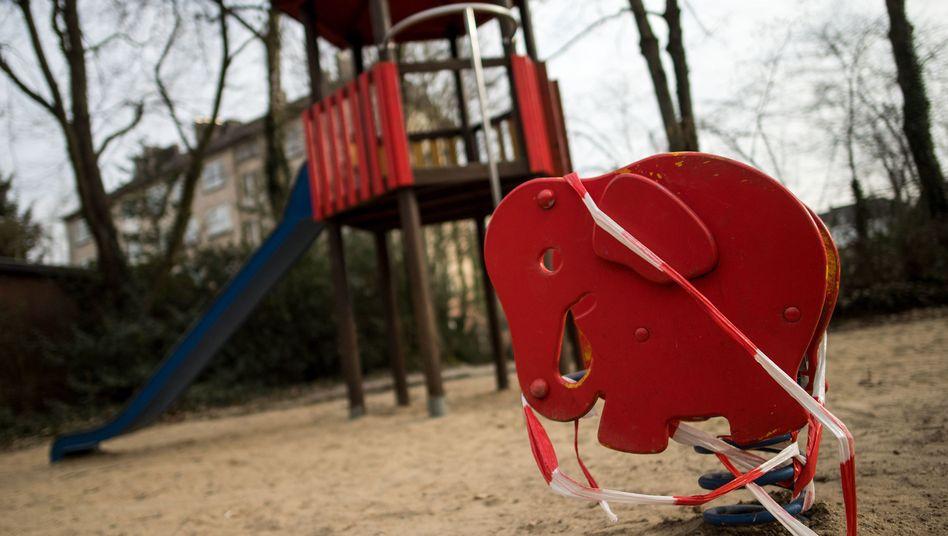 Kinderspielplatz im Aachener Westpark (Archiv)