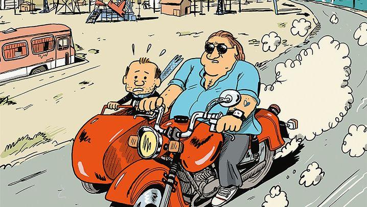 Comic-Doku über Gérard Depardieu: Satire? Aber wo ist die Reibung?