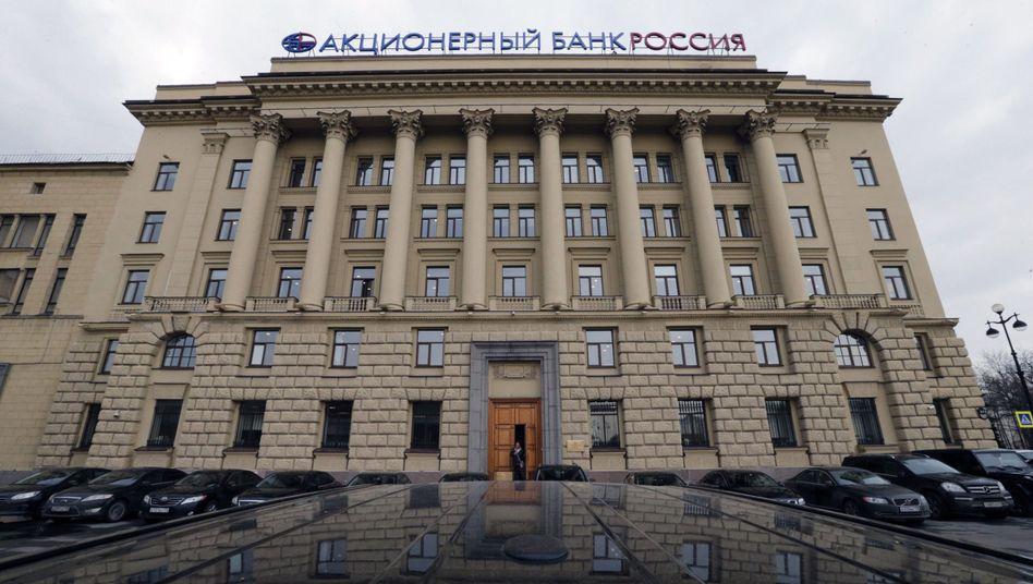 Rossija-Zentrale in St. Petersburg: In der Hand von Putins Freunden