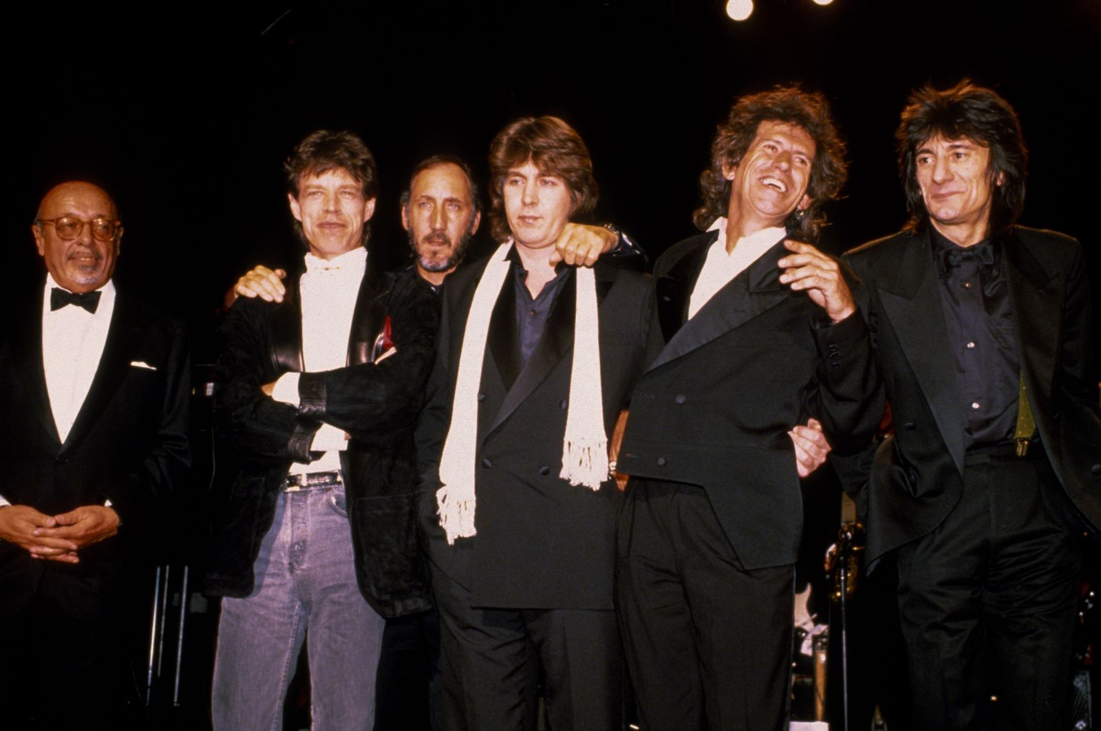 Pete Townshend - 1989 Rock n Roll Hall of Fame Induction Ceremony