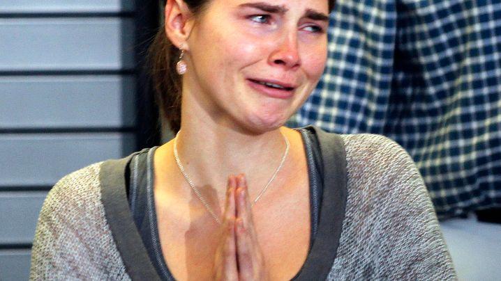 Mordfall: Freispruch für Amanda Knox