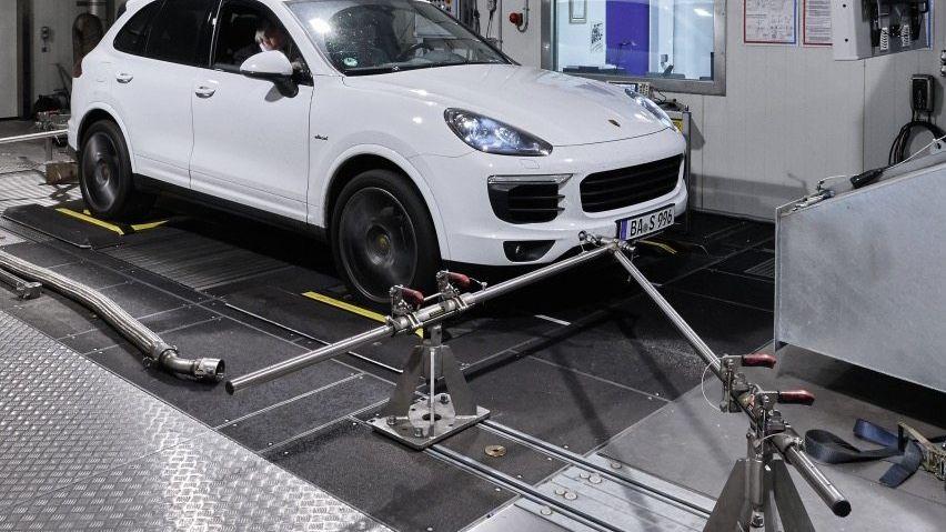 Porsche Cayenne beim Abgastest: Auffällige Werte