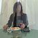 Speisen hinter Scheiben