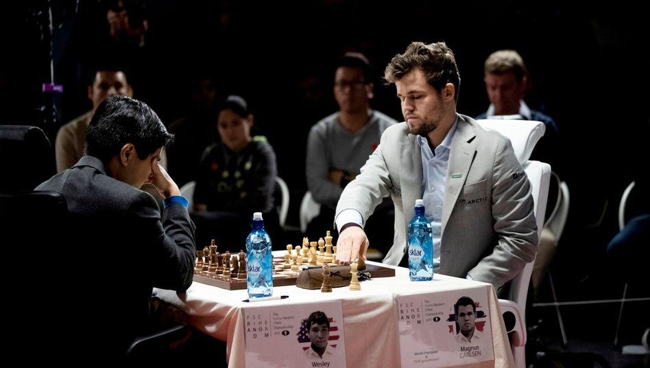 Spielte zuletzt bei der Fischer-Random-WM: Magnus Carlsen