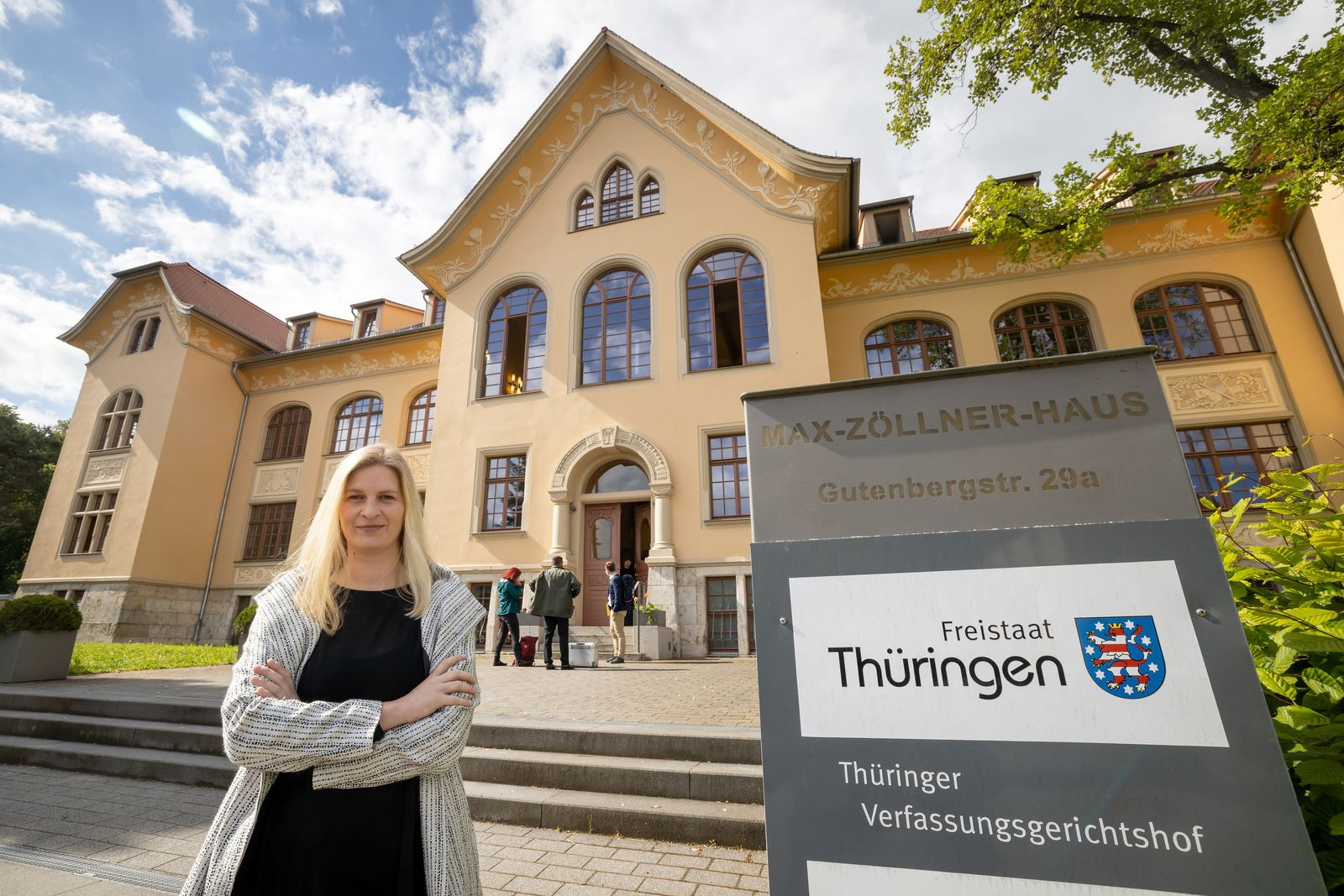 Verfassungsgericht verhandelt über Babys im Landtag