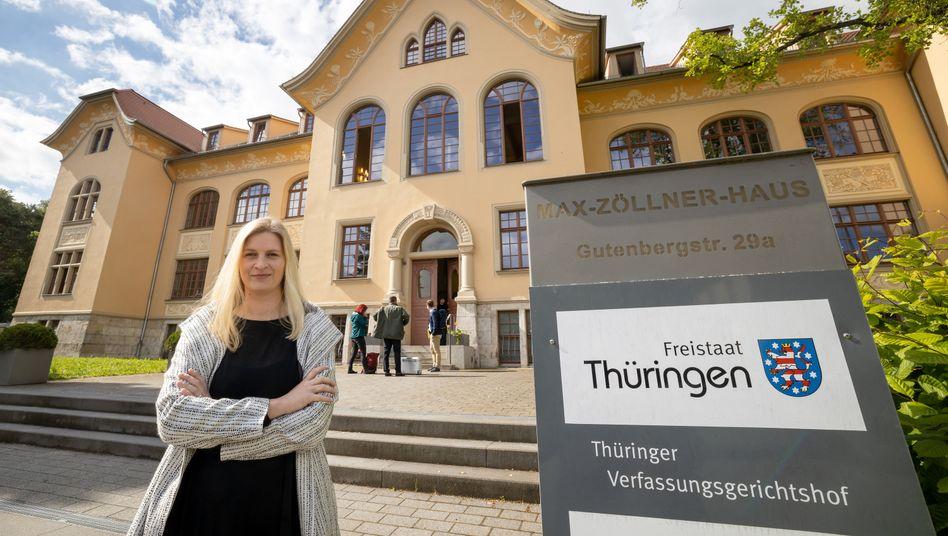 Thüringer Abgeordnete Madeleine Henfling (Grüne): 2018 sorgte ihr Fall für Empörung