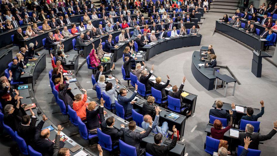 Abstimmung im Bundestag (Archivfoto)