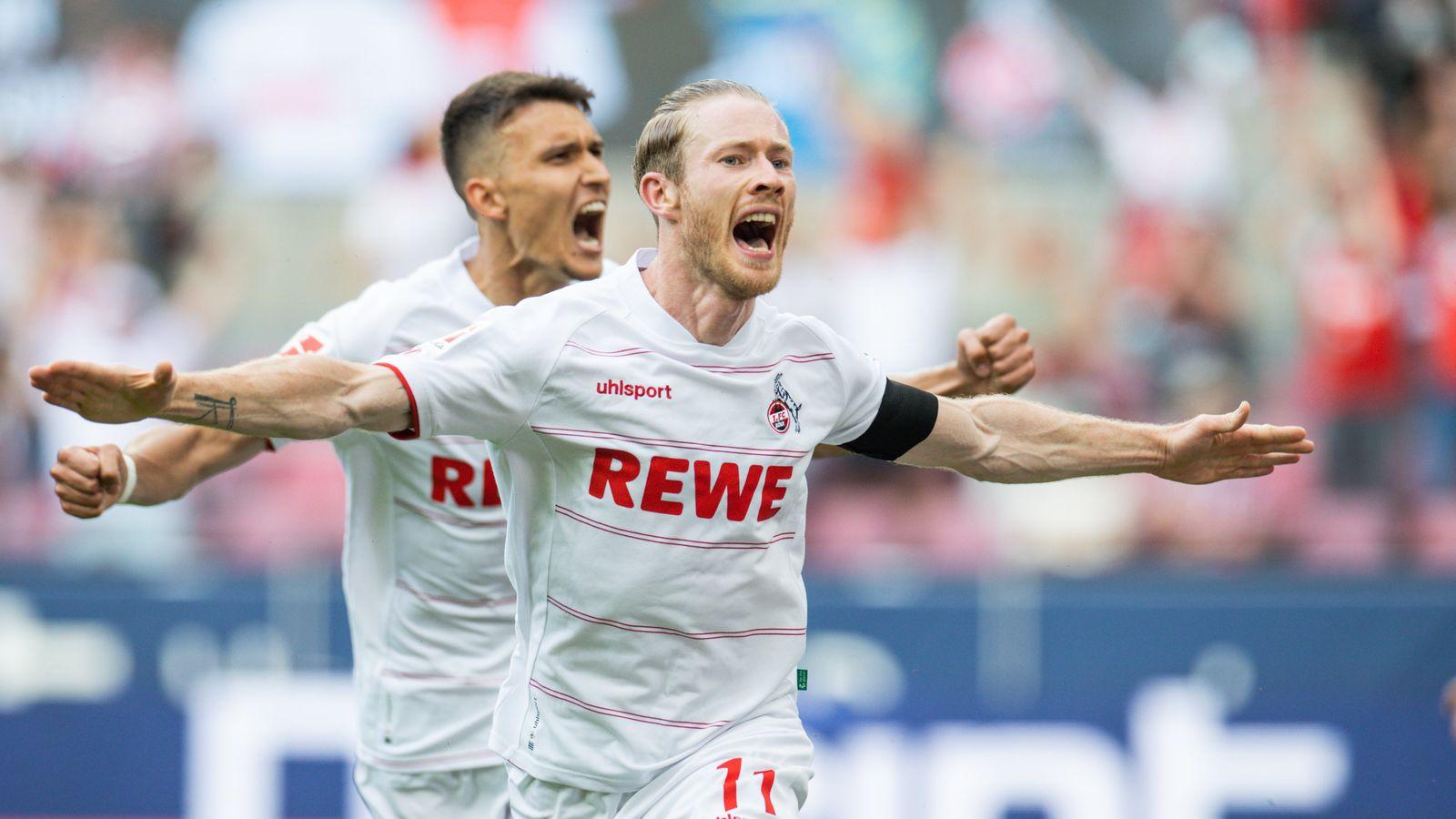 1. FC Köln dreht bei Baumgart-Debüt die Partie gegen Hertha BSC - DER SPIEGEL