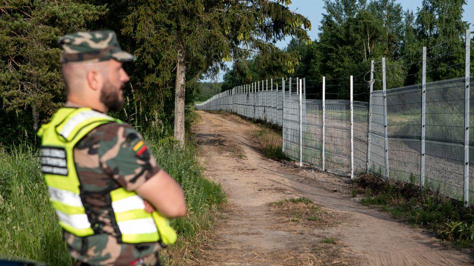 Grenze zu Belarus: Die litauische Regierung verzeichnet einen starken Anstieg illegaler Grenzübertritte