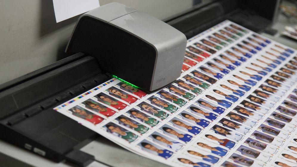 WM-Sticker: Verblüffende Details auf Panini-Pressefotos