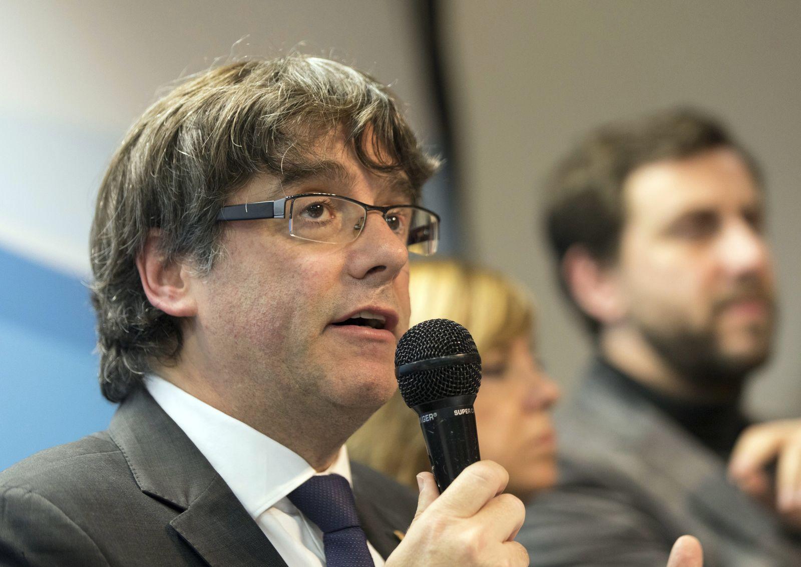 PK Puigdemont in Brüssel