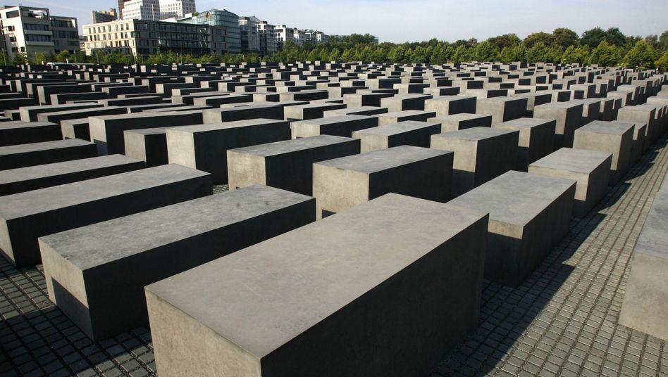Berlin's Holocaust Memorial.