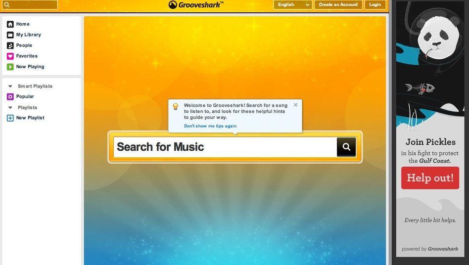 Grooveshark: Der Musikdienst hat für einen Teil seines Angebots keine Lizenzen