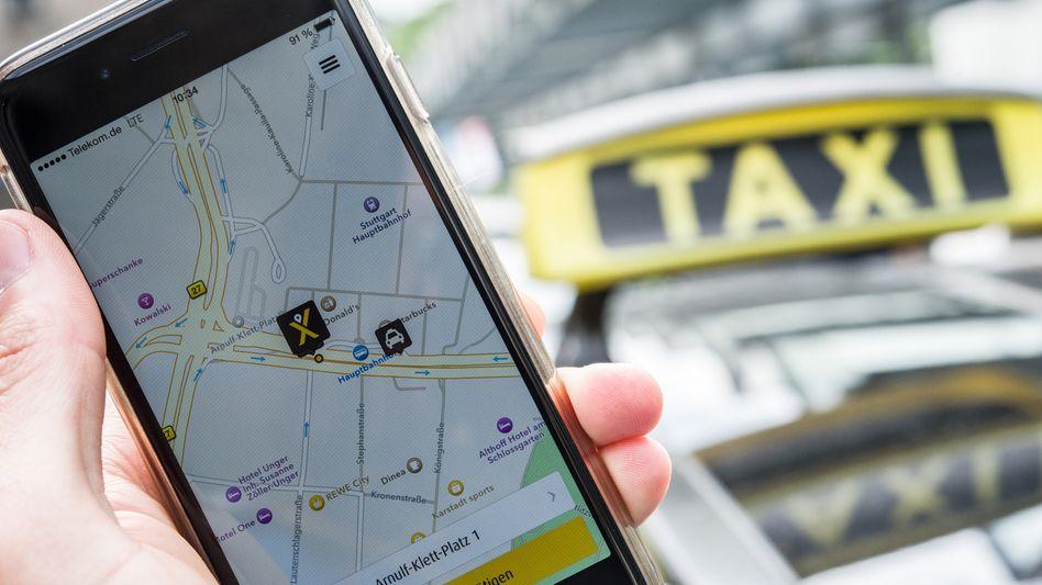 App des Fahrtenvermittlers MyTaxi: Umstrittener Preisnachlass