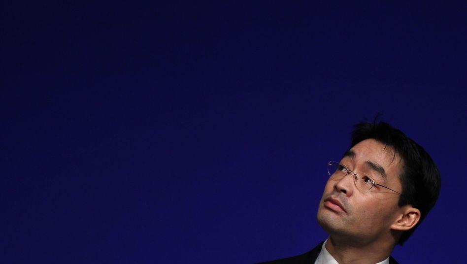 FDP-Chef Rösler: Mehr als 5000 Parteigänger verloren