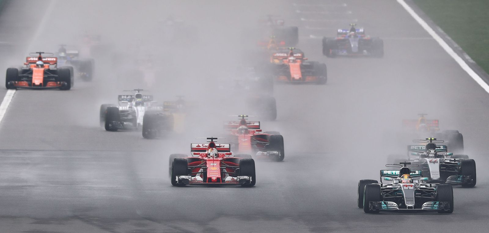 Shanghai Formel 1/ Vettel
