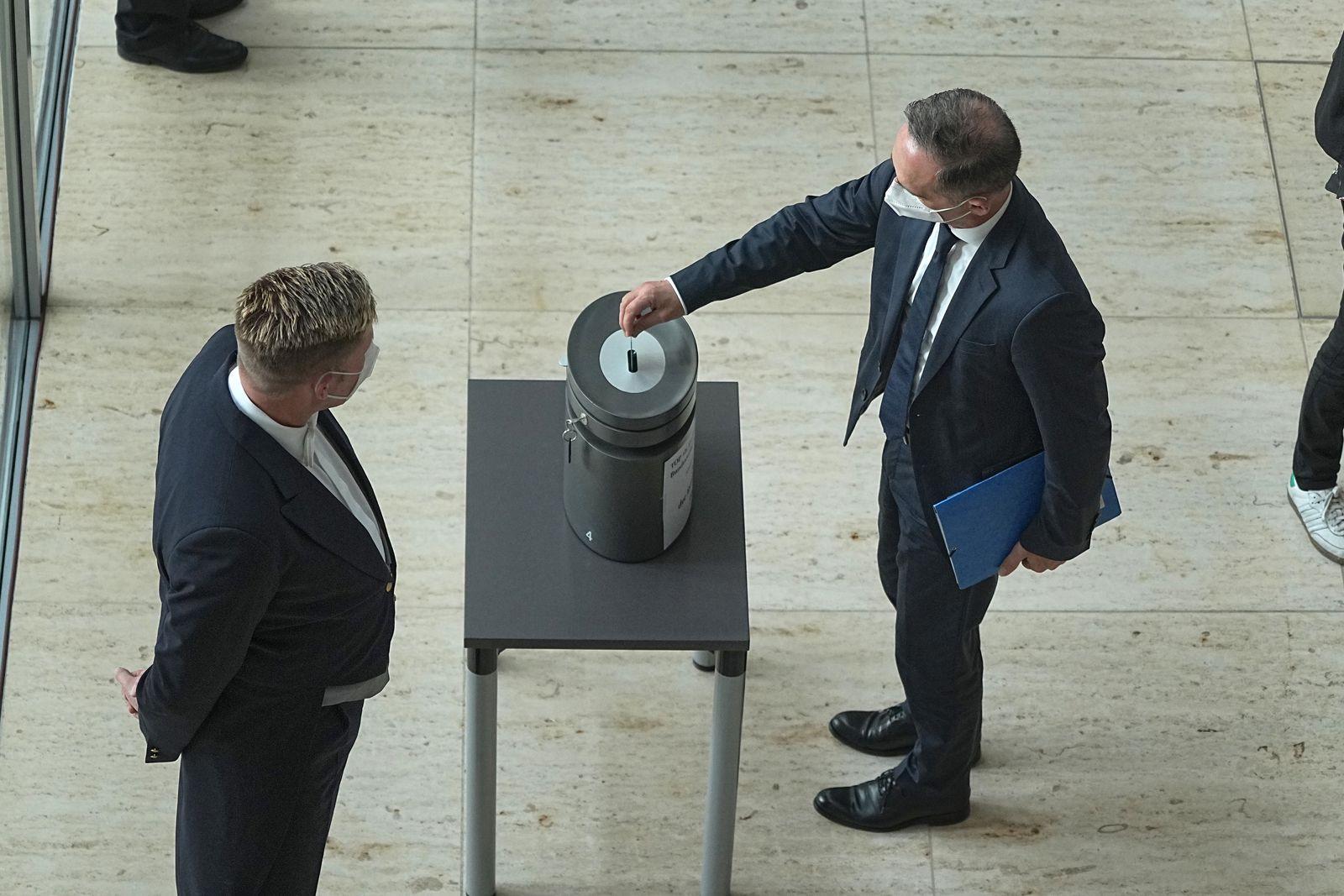 Sondersitzung des Bundestags