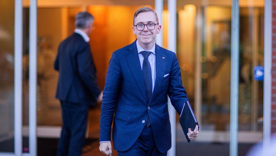 CDU-Politiker Philipp Amthor: Lobbyarbeit für Augustus Intelligence
