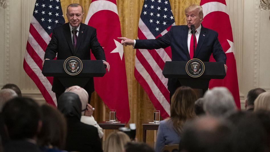 Erdogan besucht Trump: Wer ist hier der Boss?
