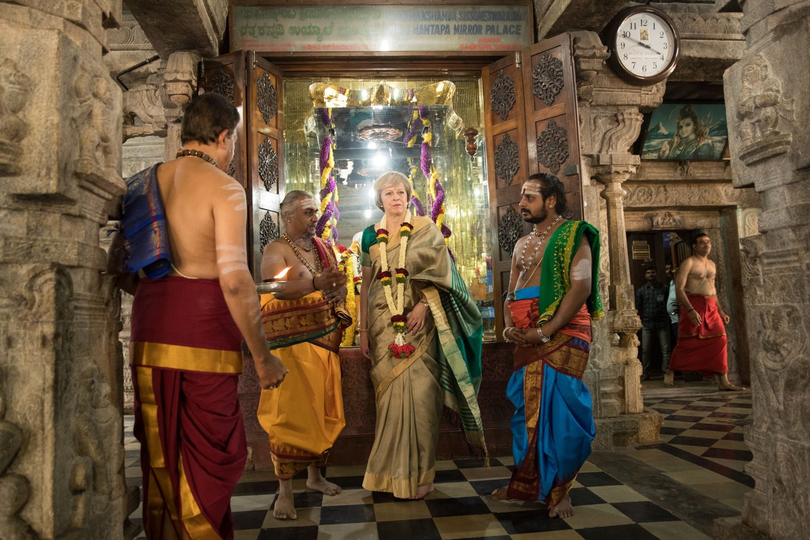 Theresa May Takes A British Trade Delegation To India - Day 2