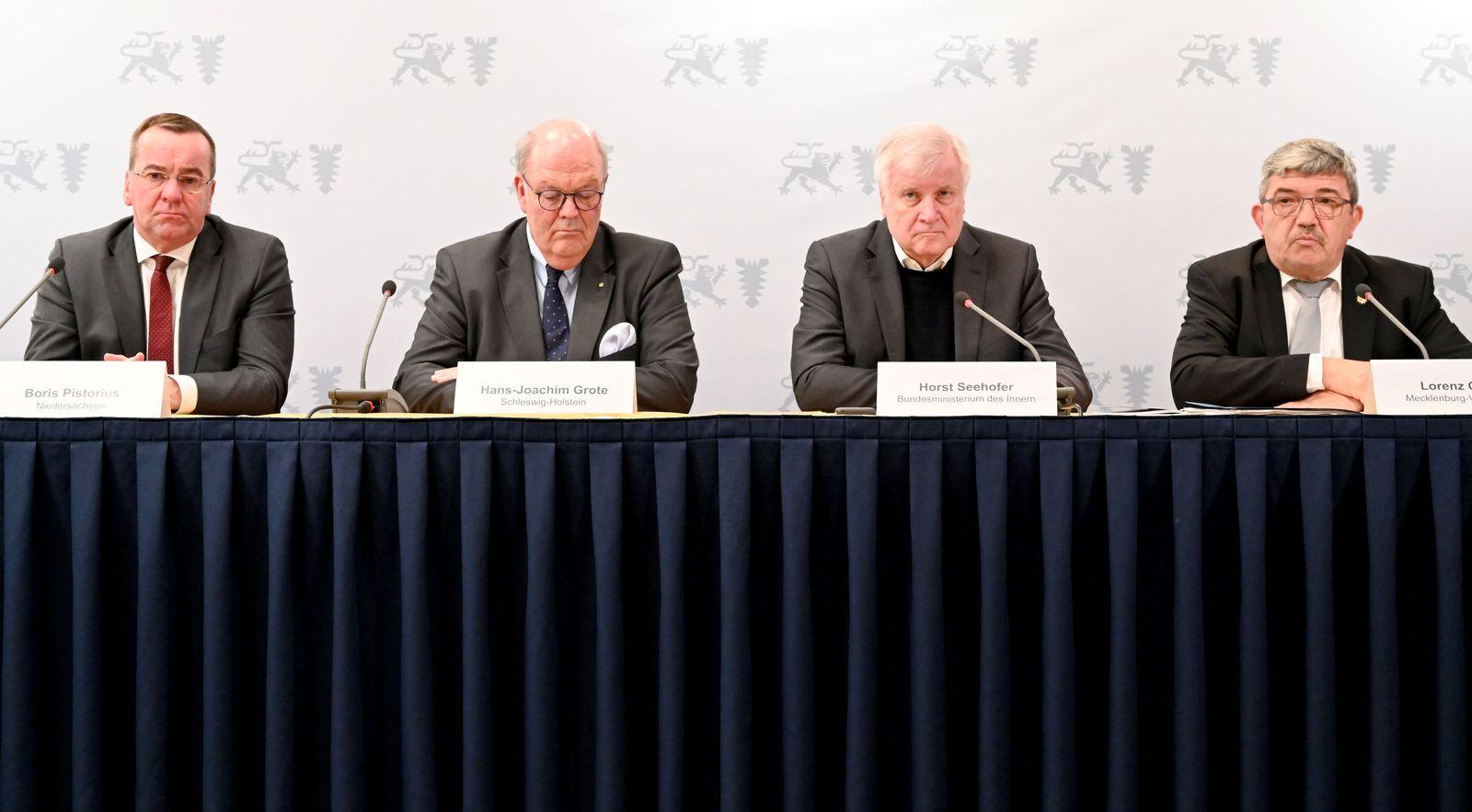 Innenministerkonferenz/ Lübeck