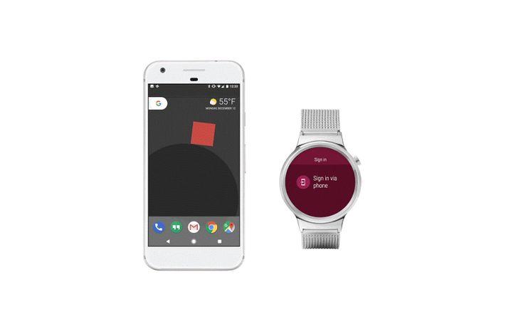 Android Wear 2.0 bringt auch eine neue Art der Authentifizierung per Uhr.