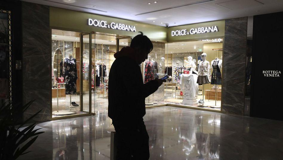 Laden von Dolce & Gabbana in Beijing