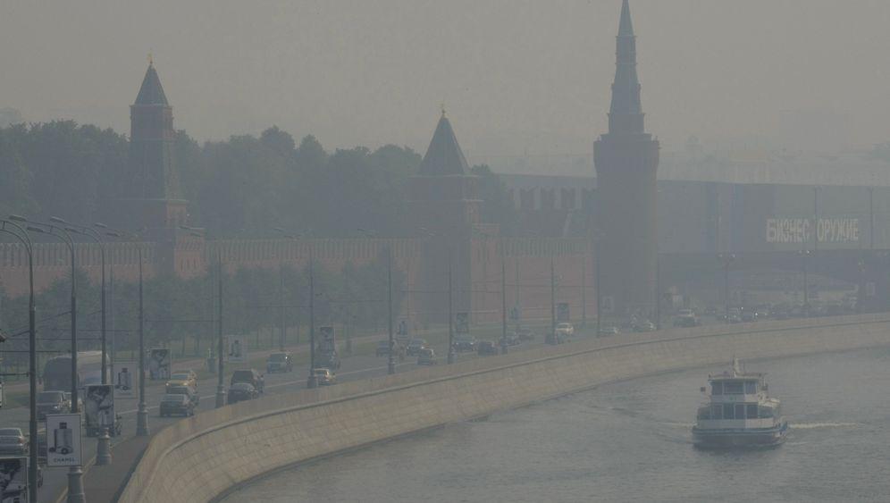 Russland: Rauch und Hitze in Moskau