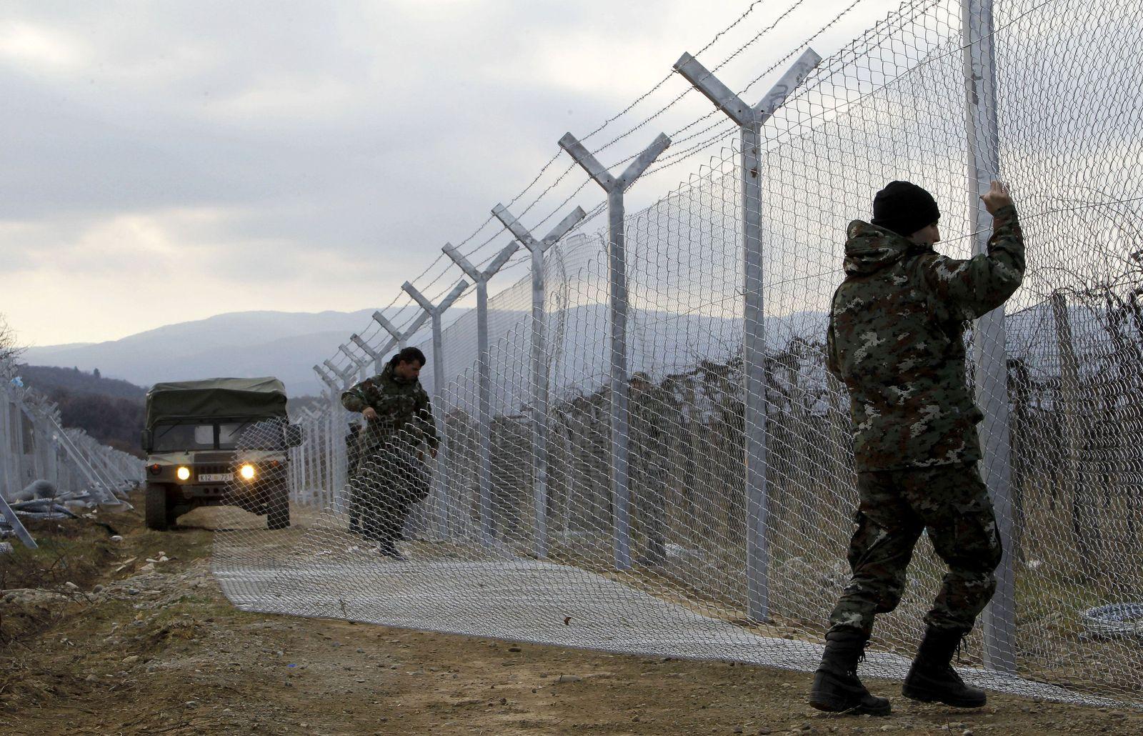 Mazedonien Grenze