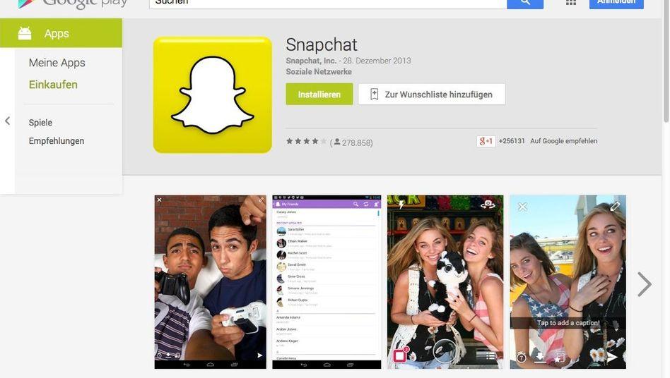 Snapchat: Per Schnittstelle ließen sich massenhaft Telefonnummern abgleichen