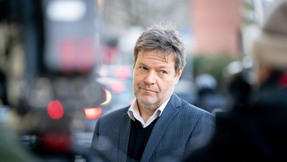 """Grünenchef Habeck: Die Lage in den Flüchtlingslagern sei """"ohnehin dramatisch"""""""