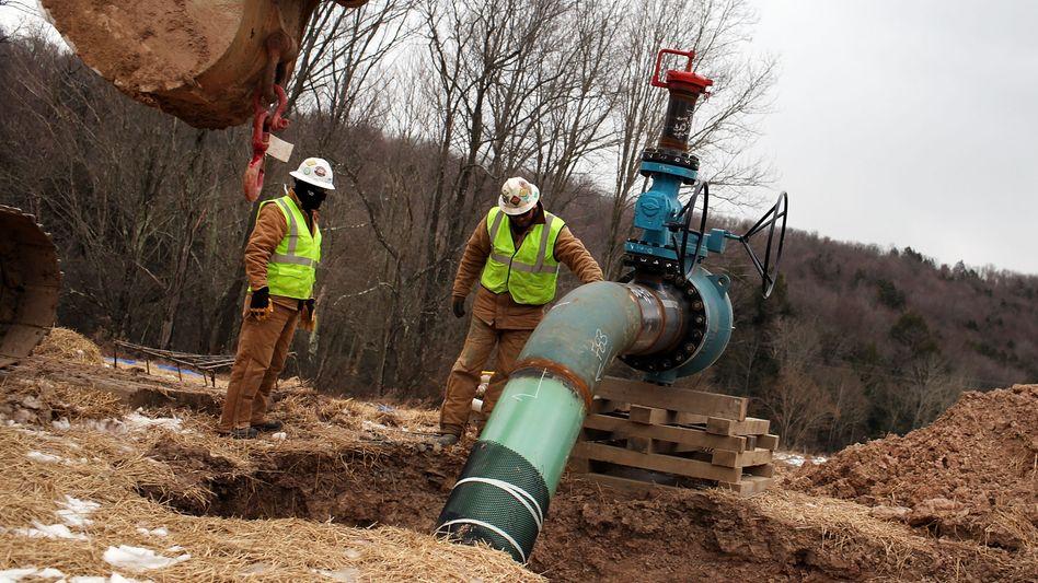 Fracking in den USA: Flüssigkeiten unter die Erde gepumpt