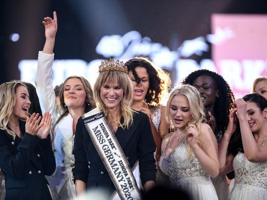 """Miss Germany Leonie von Hase, andere Teilnehmerinnen: """"Dieser Mikrokosmos"""""""