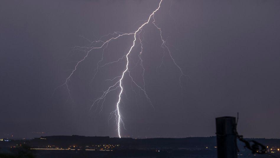 Blitzeinschlag (Archivfoto)