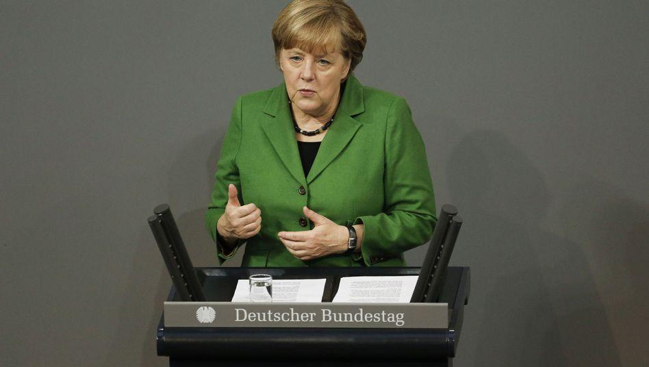 """Kanzlerin Angela Merkel: """"Neues Vertrauen aufbauen"""""""