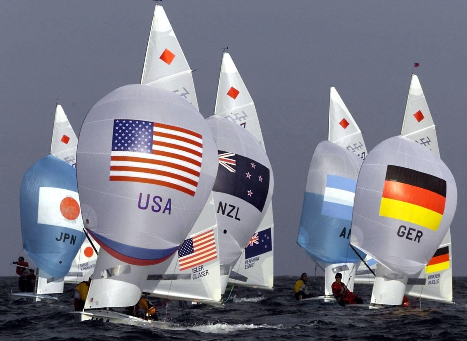 Olympia Segeln 470er Klasse