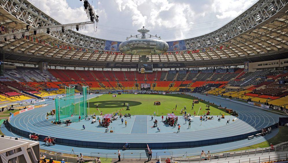 Leichtathletik-WM: Protest und Spiele