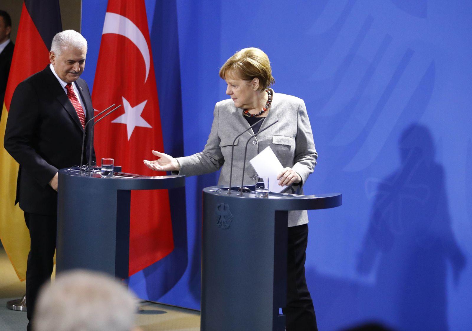 Yildirim/ Merkel