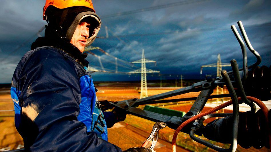 Bauarbeiten am Stromnetz: Stagnation in der ganzen Republik