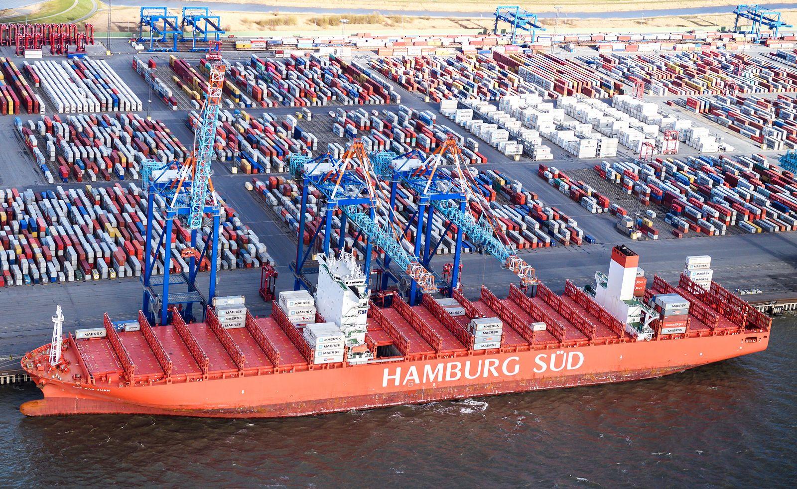 Deutschland / Konjuktur / Export / Container / Bremerhaven