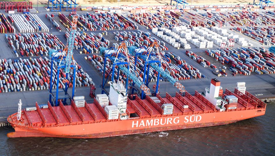 Container-Terminal in Bremerhaven