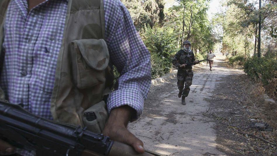 Kämpfer in Syrien in Aleppo: Die USA wägen ab, ob sie eingreifen sollen
