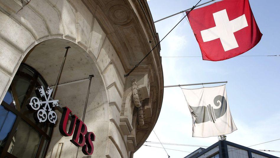 UBS-Filiale in Basel: Die Vermögensverwaltung läuft wieder